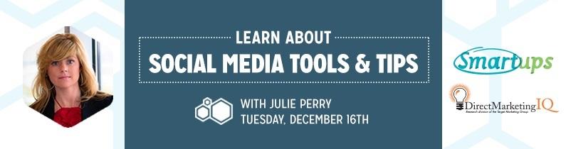 Julie Perry DMIQ Webinar and Indy Smartups Presentation